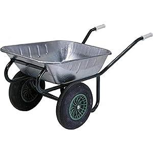 Zweiradkarre 90 L verz. montiert 215-90/2