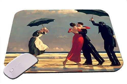 Preisvergleich Produktbild Maus-Pad mit Kunstdruck, Motiv: Der singende Butler von Jack Vettriano (Mauspad)