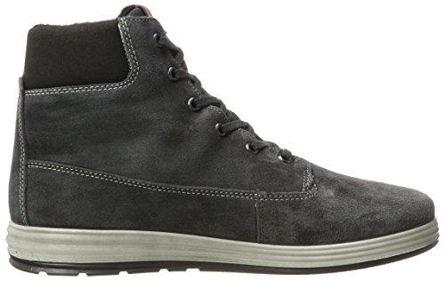 Ricosta Dirk, Sneakers Hautes Homme Gris (Grigio)