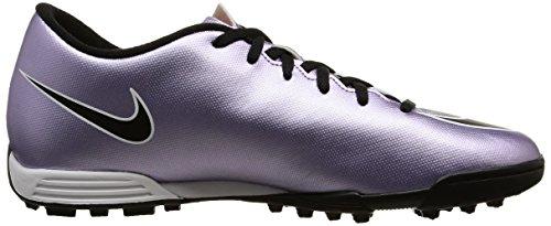 Nike Herren Mercurial Vortex II TF Fußballschuhe, 44.0 EU Lila / Schwarz / Gelb / Weiß (Urbn Flieder / Blk-brght Mng-weiß)