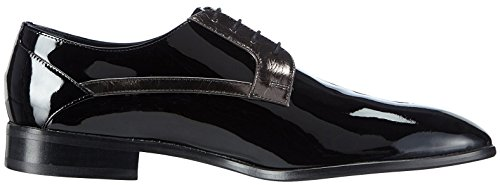 Hemsted & Sons - Scarpe stringate Uomo Nero/Antracite