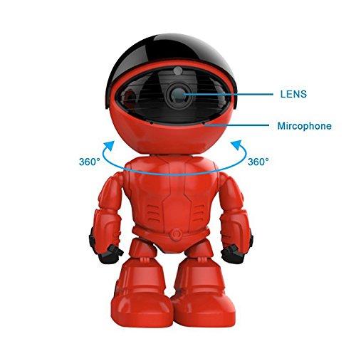 Zantec 960P 1.3MP HD Wireless WI FI Roboter Kamera Nachtsicht Zwei Wege Audio