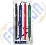 PILOT PEN Tintenroller Frixion Clicker 0,7 4er Etui