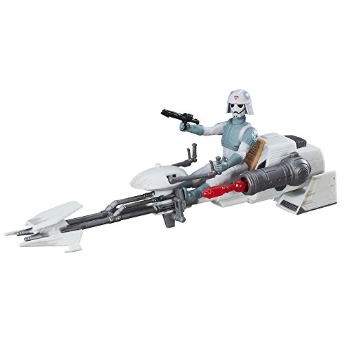 Awakens ca. 9,5cm Fahrzeug - Rebels AT-DP Pilot und Imperial Speeder (Star Wars Rebel Pilot)