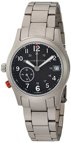 Momentum Women's Swiss Quartz Titanium Dress Watch, Color Grey (Model: 1M-SP61B0)