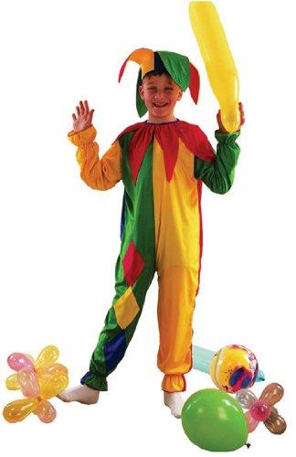 Imagen de children  disfraz de bufón infantil, talla 3  5 años g51120s
