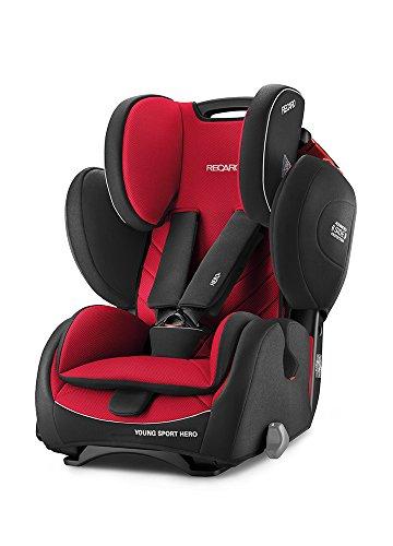 Recaro 6203.21509.66Seggiolino Auto per bambini Young Sport Hero, Racing rosso