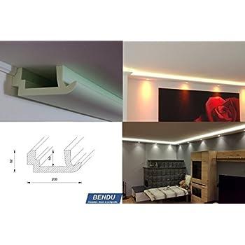 bendu moderne led stuckleisten bzw lichtvoutenprofile f r indirekte wandbeleuchtung plus. Black Bedroom Furniture Sets. Home Design Ideas