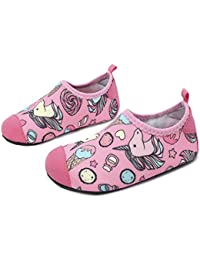 551ff3046 JOINFREE Boys Girls Toddlers Cute Water Shoes Socks Soft Light Kids Beach  Shoes Quick Dry Pool