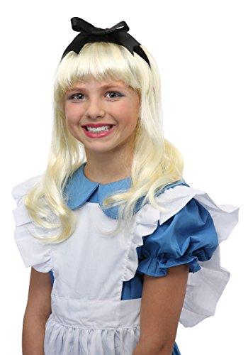 Alice im wunderland Perücke Kinder