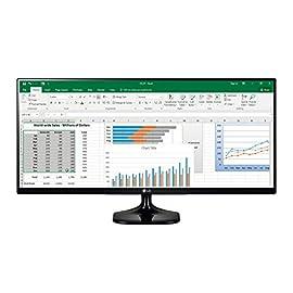 "LG 25UM58 Monitor per PC Desktop da 25"", UltraWide LED IPS, 2560 x 1080, 21:9, Multitasking, 2x HDMI"