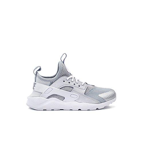 Sneaker Nike NIKE Air Huarache Ultra Ultra Leder Schuhe in hellgrauem Stoff und Stoff 859593-012.