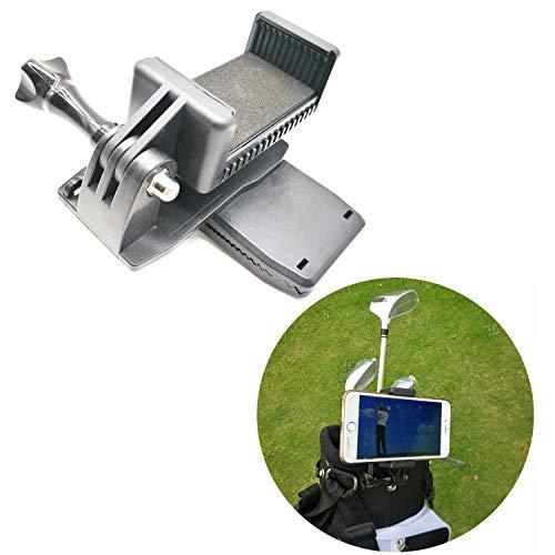 Golf Bag Clip Handyhalterung Halterung für Gopro Action Kamera und Smartphones