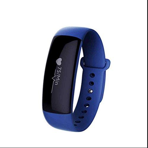 Fitness tracker Uhr Sport Smart Uhr Watch Armband sport Uhr handy uhr Pulsmesser Schrittzähler Schlafmonitor Unterstützen Sie die Kommunikation jederzeit für Samsung/ huawei/Android-Smartphones
