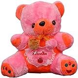 Skylofts Sweet 25cm Stuffed Soft Plush Musical Teddy Bear With Lights For Kids