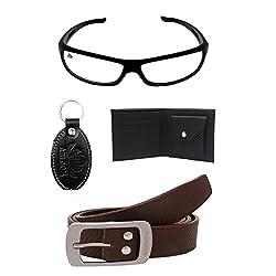 Mens Belts & Wallet Stylish Combo