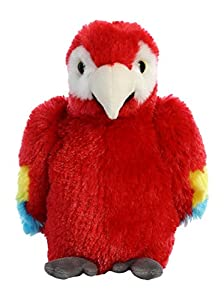 Aurora World 31738Mini Flopsie-Scarlet Macaw Parrot 8en