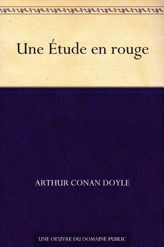 Couverture du livre Une Étude en rouge