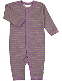 81b7bd8874b85 Joha Baby Girls' Striped Long Sleeve Sleepsuit