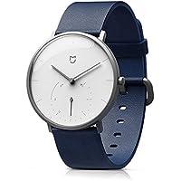 Lixada Cuarzo Reloj 3ATM Resistente Al Agua Doble Dial Reloj Hombres Mujeres Casuales de Negocios de Moda Reloj (Blanco)