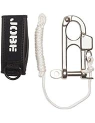 Jobe Quick Release with Wrist Seal - Cuerda de esquí acuático y deportes de arrastre, color blanco