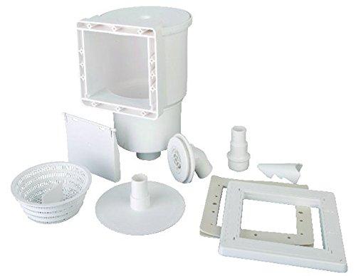 Gre AR100 - Skimmer für Standard-Pools + Ventilantrieb, Farbe weiß