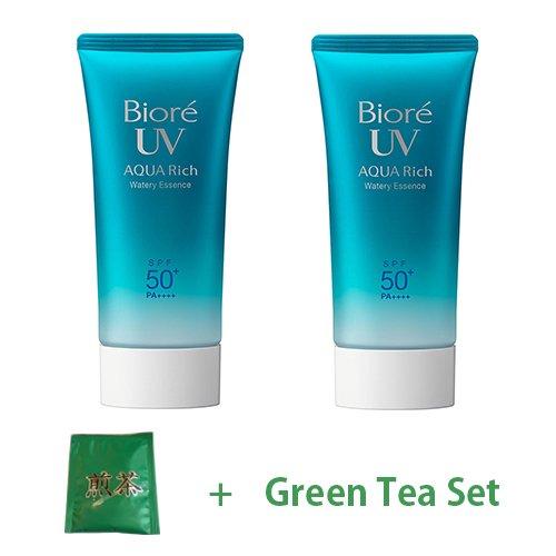 biore-uv-aqua-rich-water-wreath-essence-type-spf50-pa-2017-version-50g-2pcs-green-tea-set