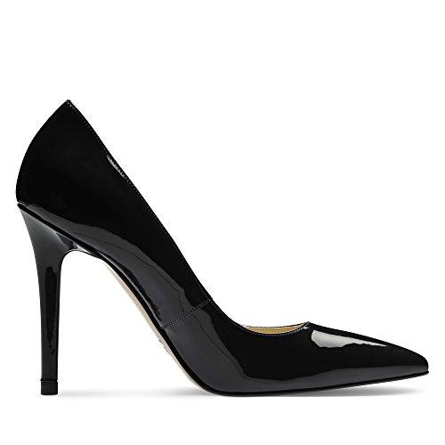 Vernice Scuro Evita Donna In Alina Scarpe Stiletti Blu qX07wxx8