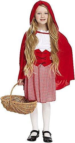 Rot Kapuze Girl Kostüm Large 10–12Yrs