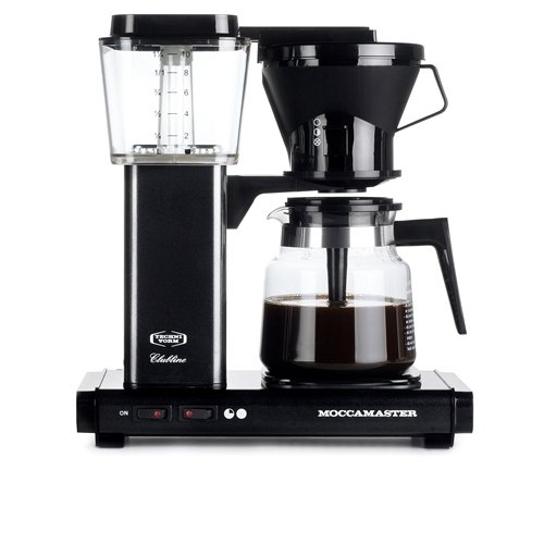 Moccamaster KBG741 AO – coffee makers (Freestanding, Semi-auto, Drip coffee maker, Ground coffee, Black)