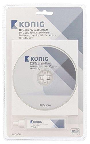 König TVDLC10 Kit di Pulizia per Lenti