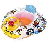 HARRYSTORE Cartoon Lenkrad Schwimmring Float Sitz Boot Baby Ring Pool Schwimmen Aufblasbare Schwimmen Sicher Floß Kid Wasser Auto