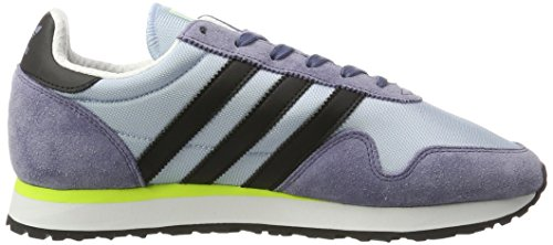 adidas Herren Haven Laufschuhe Mehrfarbig (Easy Blue/core Black/solar Yellow)
