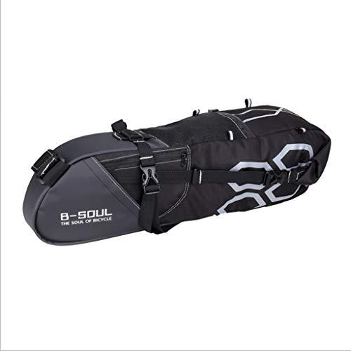 HWB Sattel Tasche,Wasserdichte Large12-Ltr-Fahrradverpackung Stil Sitz Packtasche Satteltasche Hecktasche Licht Radfahren Zubehör