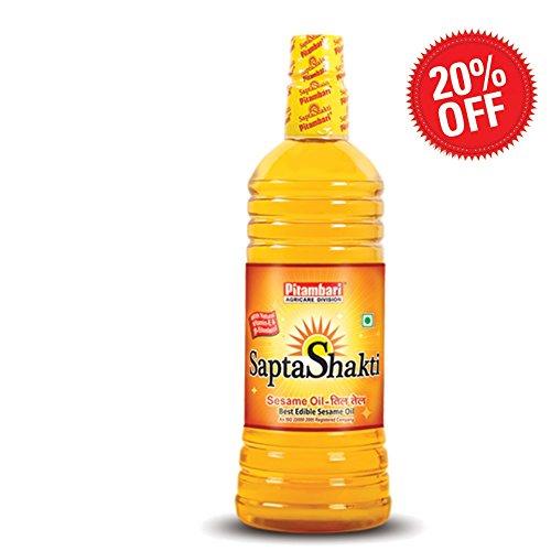 Pitambari Saptashakti Pure Sesame Oil (1 Liter)