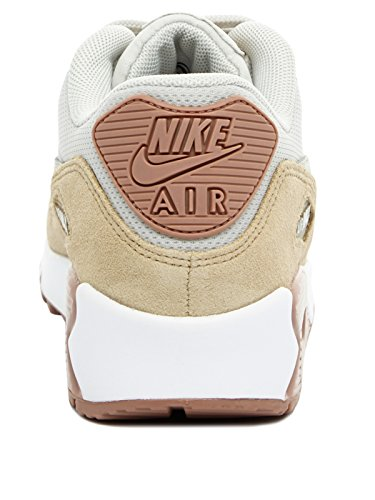 Nike Air Max 90, Scarpe da Ginnastica Basse Donna light bone-mushroom-particle pink-white