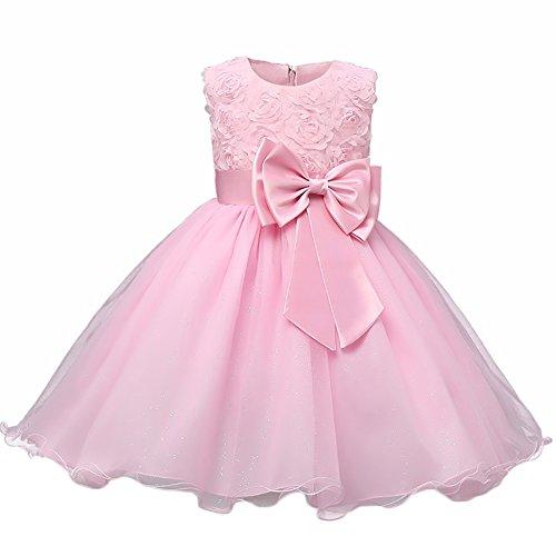 WAWALI Elegante kleider Blumen Mädchen Prinzessin Puff Rock 12 (Kleidung Dress Cinderella Up)