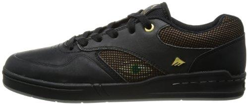 Herren Skateschuh Emerica The Heritic X The Eye Skateshoes black/brown
