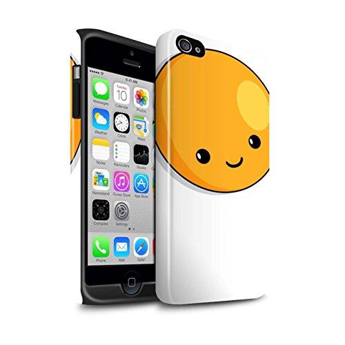 STUFF4 Glanz Harten Stoßfest Hülle / Case für Apple iPhone 7 / Wassermelone Muster / Kawaii Essen Kollektion Spiegelei