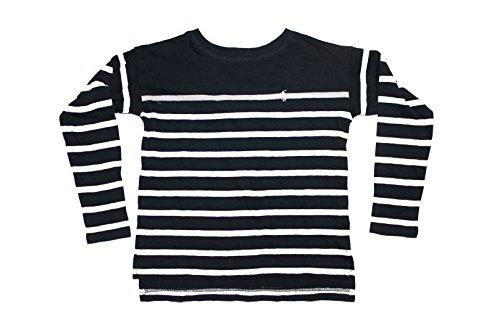 polo-ralph-lauren-madchen-t-shirt-schwarz-schwarz-gr-6-jahre-schwarz