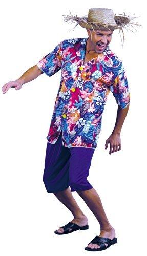 Imagen de value  disfraz de hawaiano para hombre, talla única 22673
