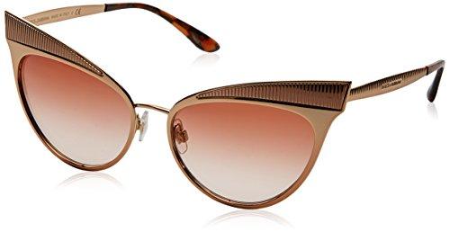 Dolce & Gabbana Damen 0DG2178 129813 57 Sonnenbrille, (Pink Gold/Pinkgradient)