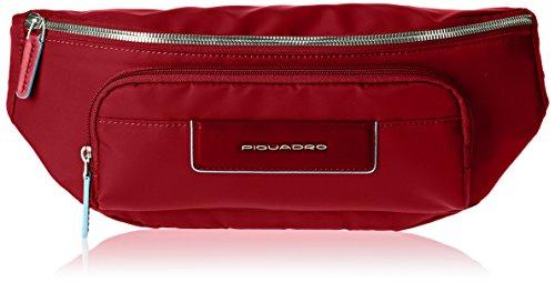 Piquadro Ca2174ce Borsa a mano, Unisex adulto, Rosso