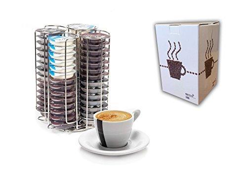 Neotechs Tassimo Kapsel Halter 52 Kaffeepad T DISC Spender Edelstahl Bosch T3