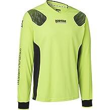 Derby Star Niños Aponi Pro Camiseta de Portero, Infantil, Color Amarillo Negro, tamaño