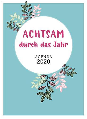 Achtsam durch das Jahr 2020 Agenda por Inga Heckmann