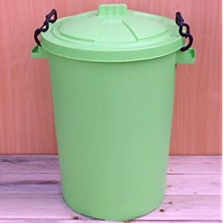 Lime Green 50 Litre Bin/Storage For Homes Gardens Animal Feed (Make In The UK)