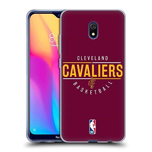 Head Case Designs Offizielle NBA Logotyp 2018/19 Cleveland Cavaliers Soft Gel Huelle kompatibel mit Xiaomi Redmi 8A -