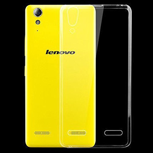 Accedere Premium Transparent clear white Silicon Flexible Soft TPU Slim Back Case Cover For Lenovo A6000 Plus  available at amazon for Rs.99