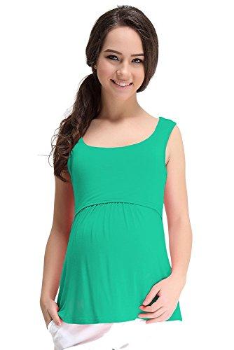 Spring Maternity - T-Shirt - Femme green